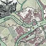 карта санкт-петербурга 1744 год