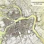 историческая карта санкт-петербурга